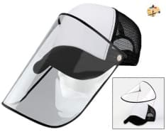 Cap with visor - FaceShield face protection
