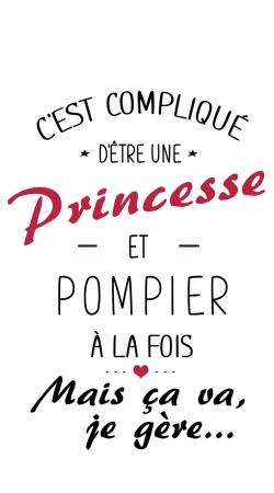 Cest complique detre une princesse et pompier