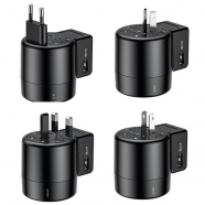 Universal Travel Charger EU UK USA AUS 2x USB 2.4