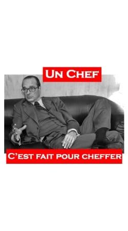 Chirac Un Chef cest fait pour cheffer