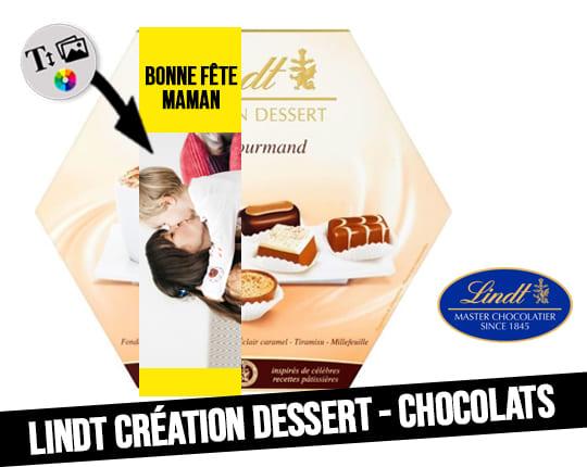 Dessert Creation - Assortment of Lindt chocolates
