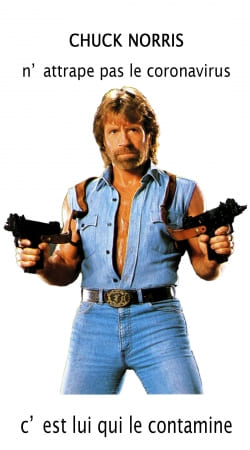 Chuck Norris Against Covid