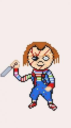 Chucky Pixel Art