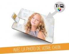 USB Tamanho de crédito cartão de 2GB