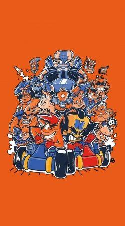 Crash Team Racing Fan Art