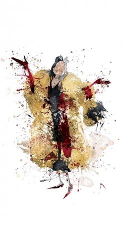 Cruella watercolor dream