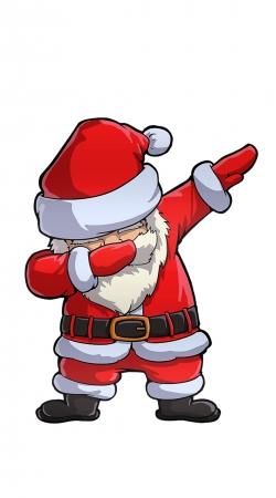 Dabbing Santa Claus Christmas