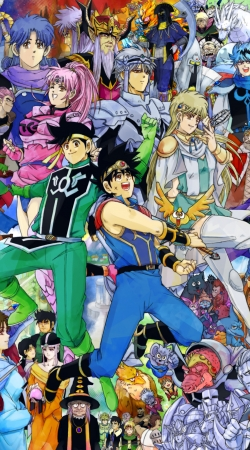 dai no daibouken fan art Dragon Quest