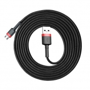 Cable Durable Nylon Braided Wire USB / micro USB QC3.0 1.5A 2M