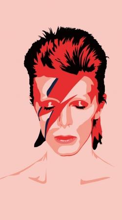 David Bowie Minimalist Art
