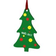 Decoration Christmas tree to hang customizable