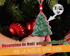 Decoração árvore de Natal para pendurar personalizável