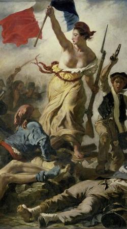 Delacroix La Liberte guidant le peuple