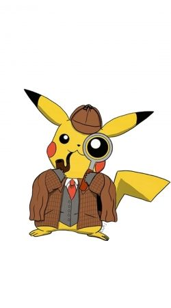 Detective Pikachu x Sherlock