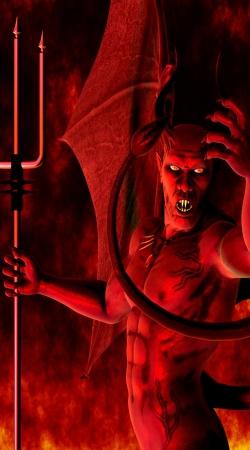 Devil 3D Art