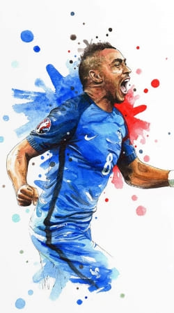 Dimitri Payet Fan Art France Team