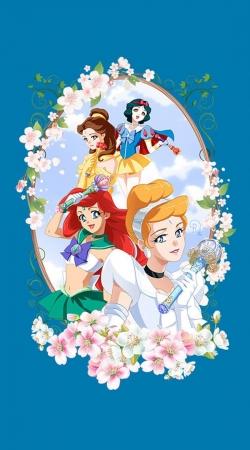 Disney Princess Feat Sailor Moon