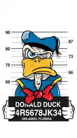 Donald Duck Crazy Jail Prison