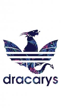 Dracarys Floral Blue
