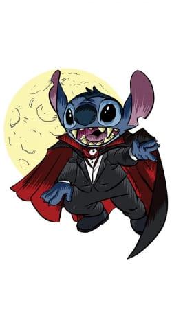 Dracula Stitch Parody Fan Art