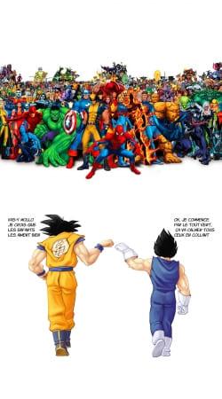 DragonBall x Marvel Combat