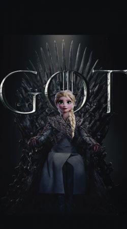Elsa Throne Got Parody