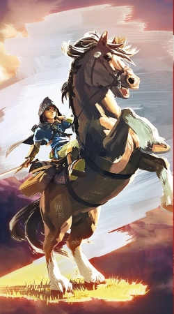 Epona Horse with Link