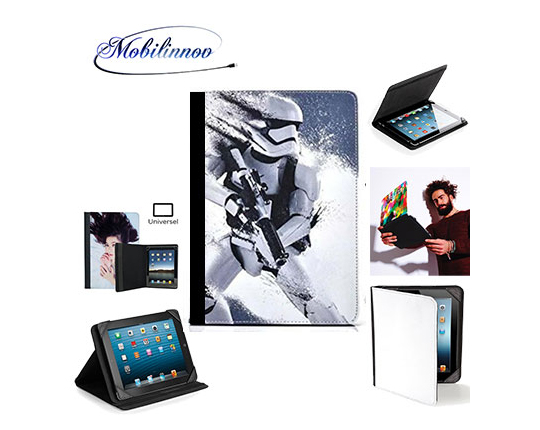 Customizable universal tablet case from 9 to 11 inches