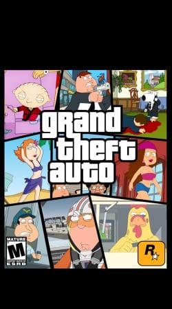 Family Guy mashup GTA