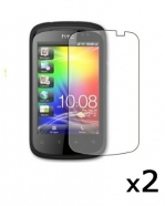 2 protective Screen Film HTC Explorer / Pico