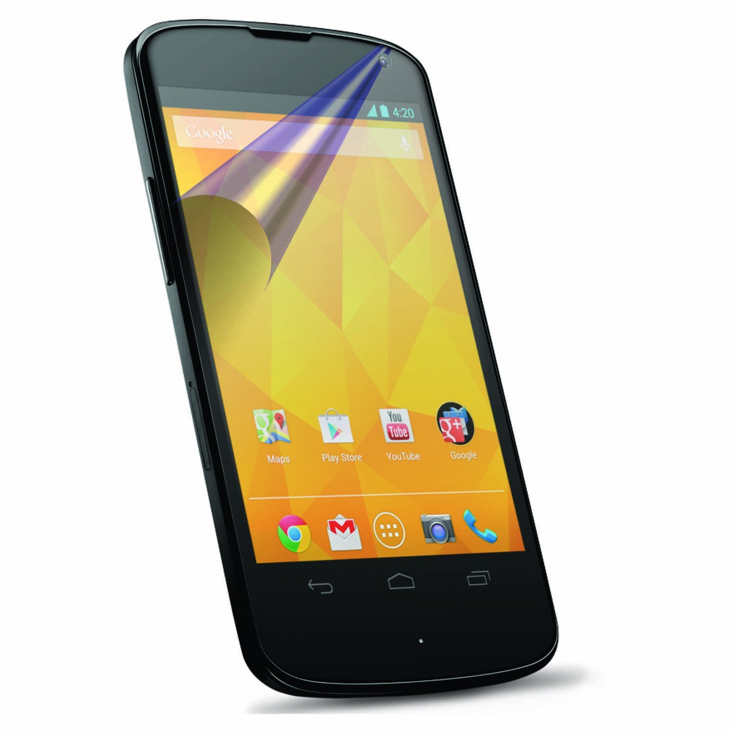 2 Protective Screen Film LG Nexus 4 e960