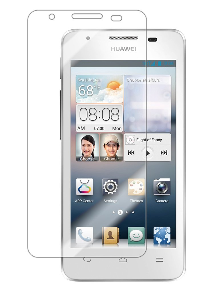 2 in 1 Huawei Ascend Mate Displayschutzfolie