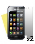2 Protective Screen Film Samsung galaxy GT i9000