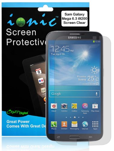 Screen Protector 2-in-1 Pack - Samsung Galaxy Mega 6.3 I9200