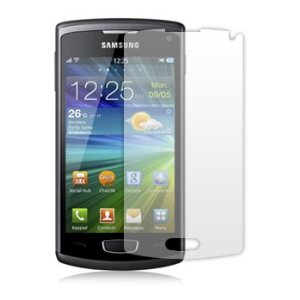 2 Protective Screen Film Samsung Wave 3 S8600