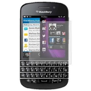 2 Protective Screen Film Blackberry Q10