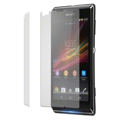 Screen Protector 2-in-1 Pack - Sony Xperia L C2105