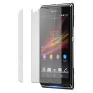 2 in 1 Sony Xperia L C2105 Displayschutzfolie