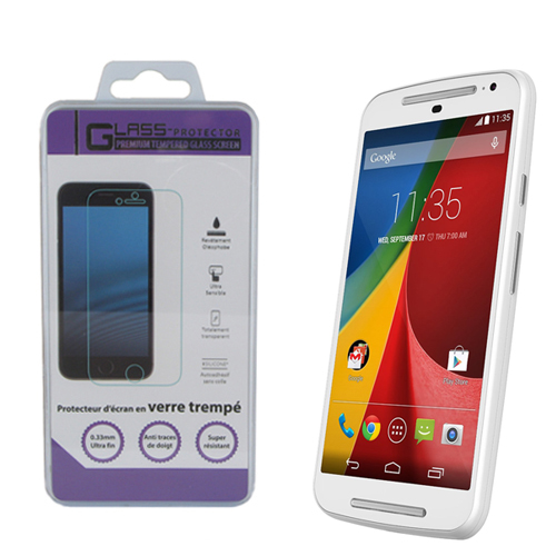 Motorola Moto G 4eme Generation Screen Protector - Premium Tempered Glass