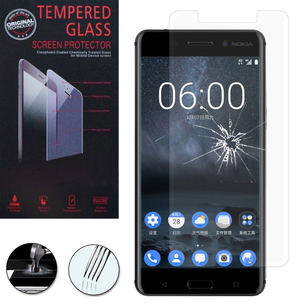 Nokia 6 Screen Protector - Premium Tempered Glass