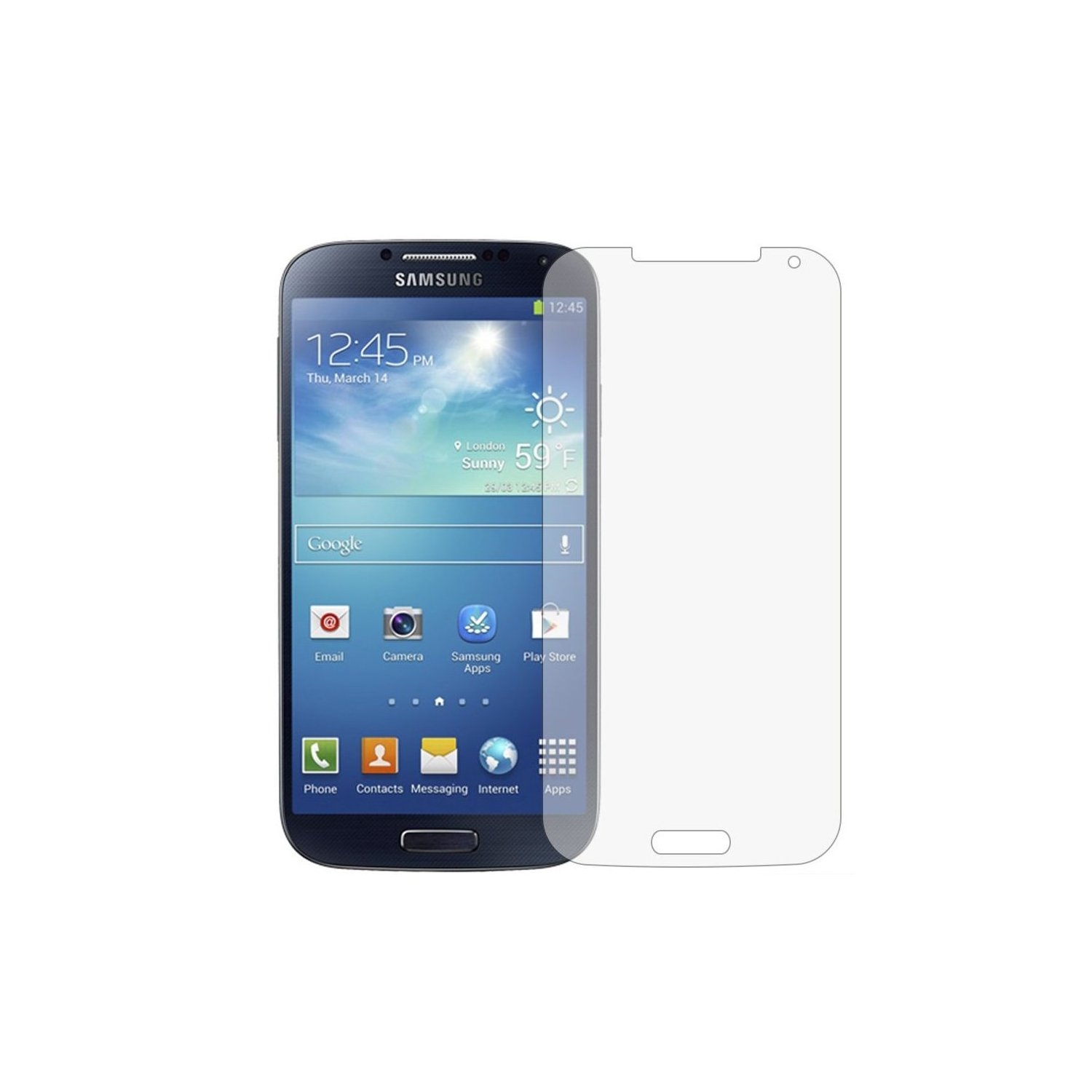 Screen Protector 2-in-1 Pack - Samsung Galaxy S4 i9500