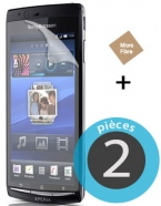 2 Protective Screen Film Sony Xperia J St26i
