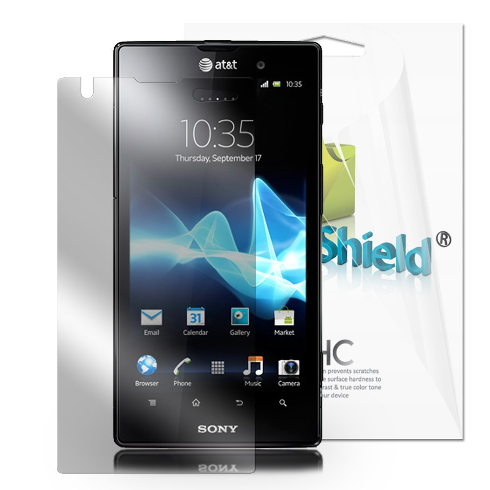Screen Protector 2-in-1 Pack - Sony Xperia T