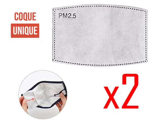5 Filter for Mask premium With filter pocket