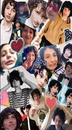 Finn wolfhard fan collage