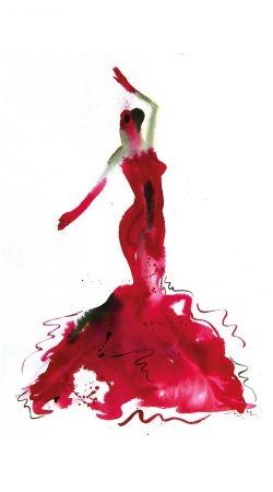 Flamenco Danser