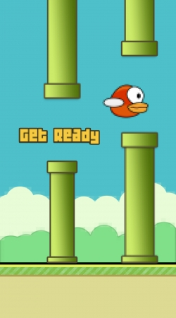 Artwork Flappy Bird do Samsung Galaxy ACE 2 i8160