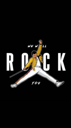 freddie mercury we will rock you