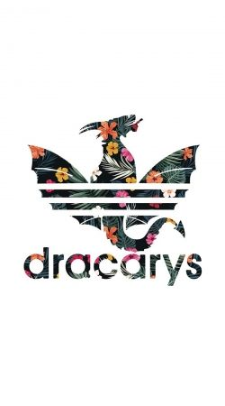 Game Of Thrones Dracarys Floral Dragon