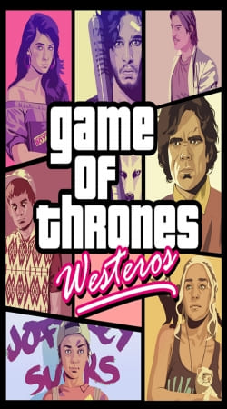 game of thrones westeros featuring GTA